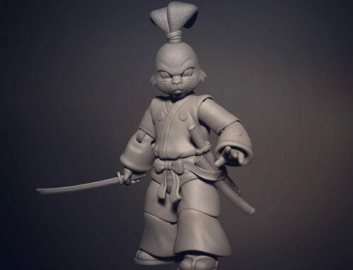 "NECA licenses Stan Sakai's ""Usagi Yojimbo"" for inclusion in its TMNT action figure line!"