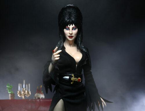 Elvira, Mistress of the Dark – 8″ Clothed Action Figure – Elvira
