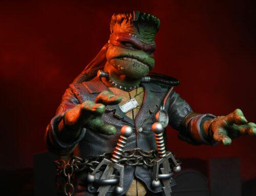 """Universal Monsters/Teenage Mutant Ninja Turtles – 7"""" Scale Action Figure – Ultimate Raphael as Frankenstein's Monster"""